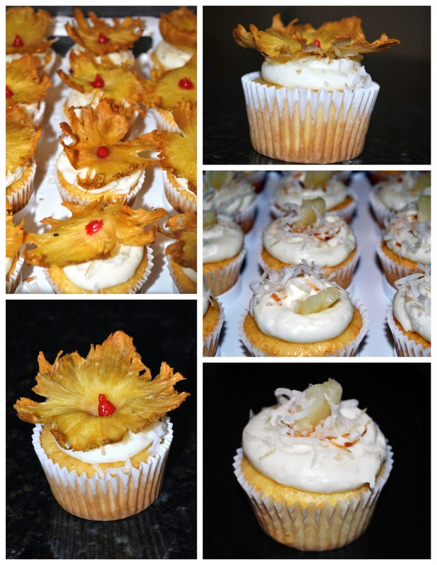 Currently Coveting: ..Pineapple Coconut Cupcakes (Two Ways)
