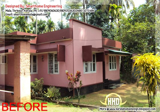 House before modification