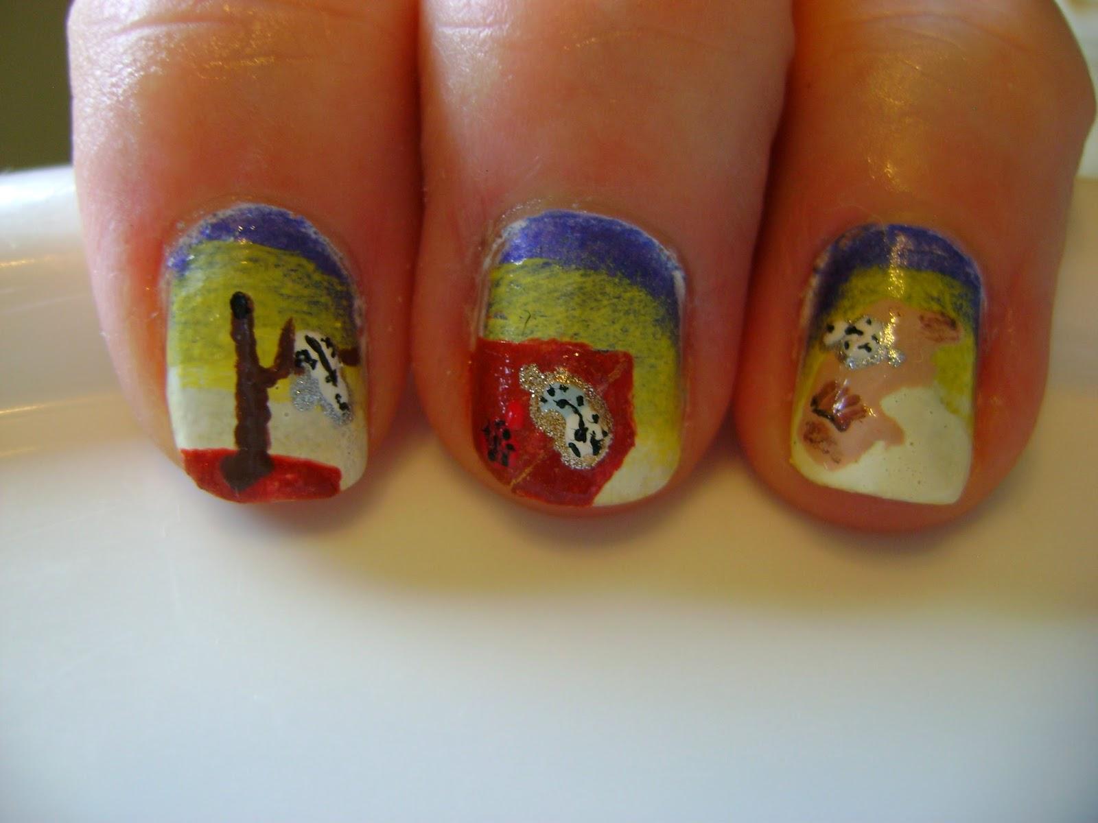 My Nail Art Hobby: Day Twenty-Seven Inspired by Artwork - Salvador ...