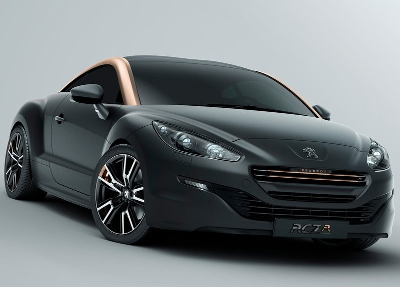 sport car garage peugeot rcz r concept 2012. Black Bedroom Furniture Sets. Home Design Ideas
