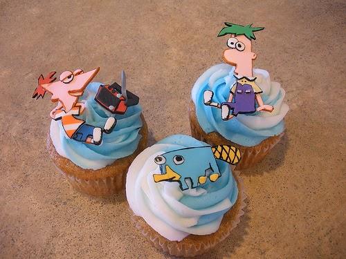 Cupcakes de Phineas y Ferb, parte 1