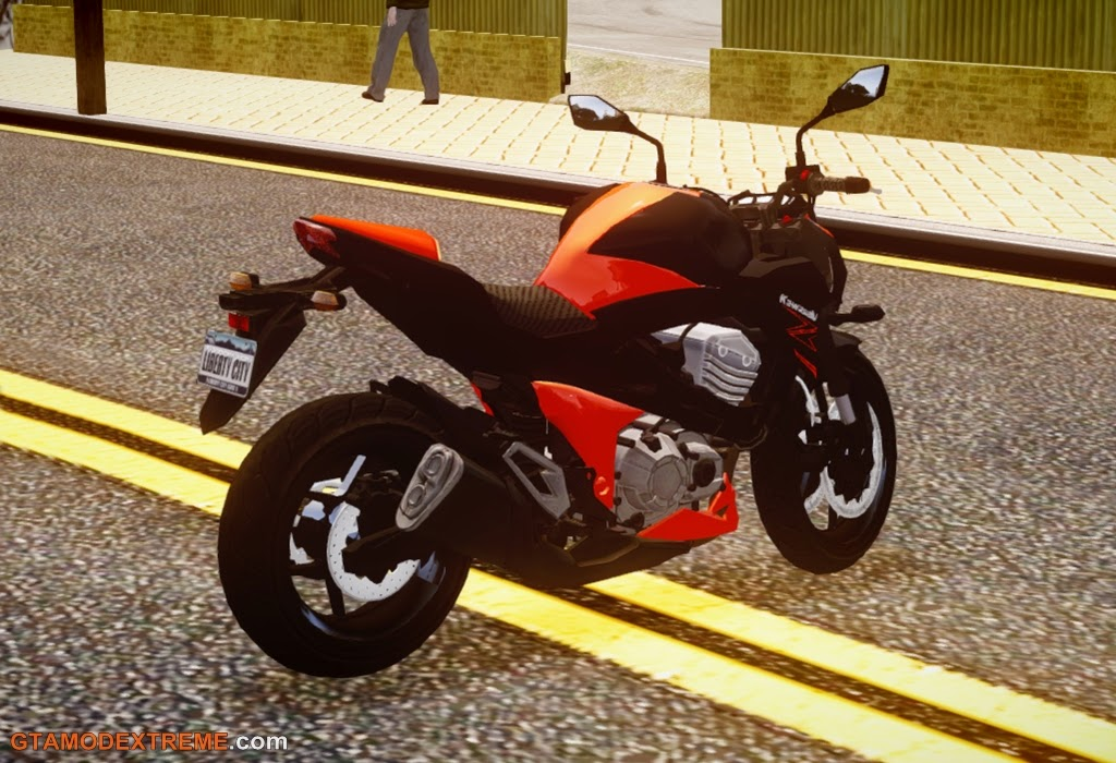 Baixar moto Kawasaki Z800 2014 Para GTA IV