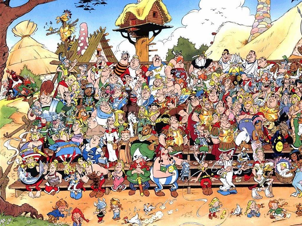Personajes Asterix