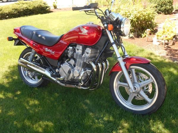 Paul's Honda Nighthawk Pages: NH 750