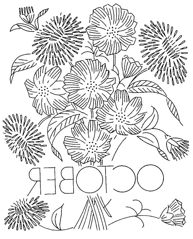 marigold colouring pages page 2