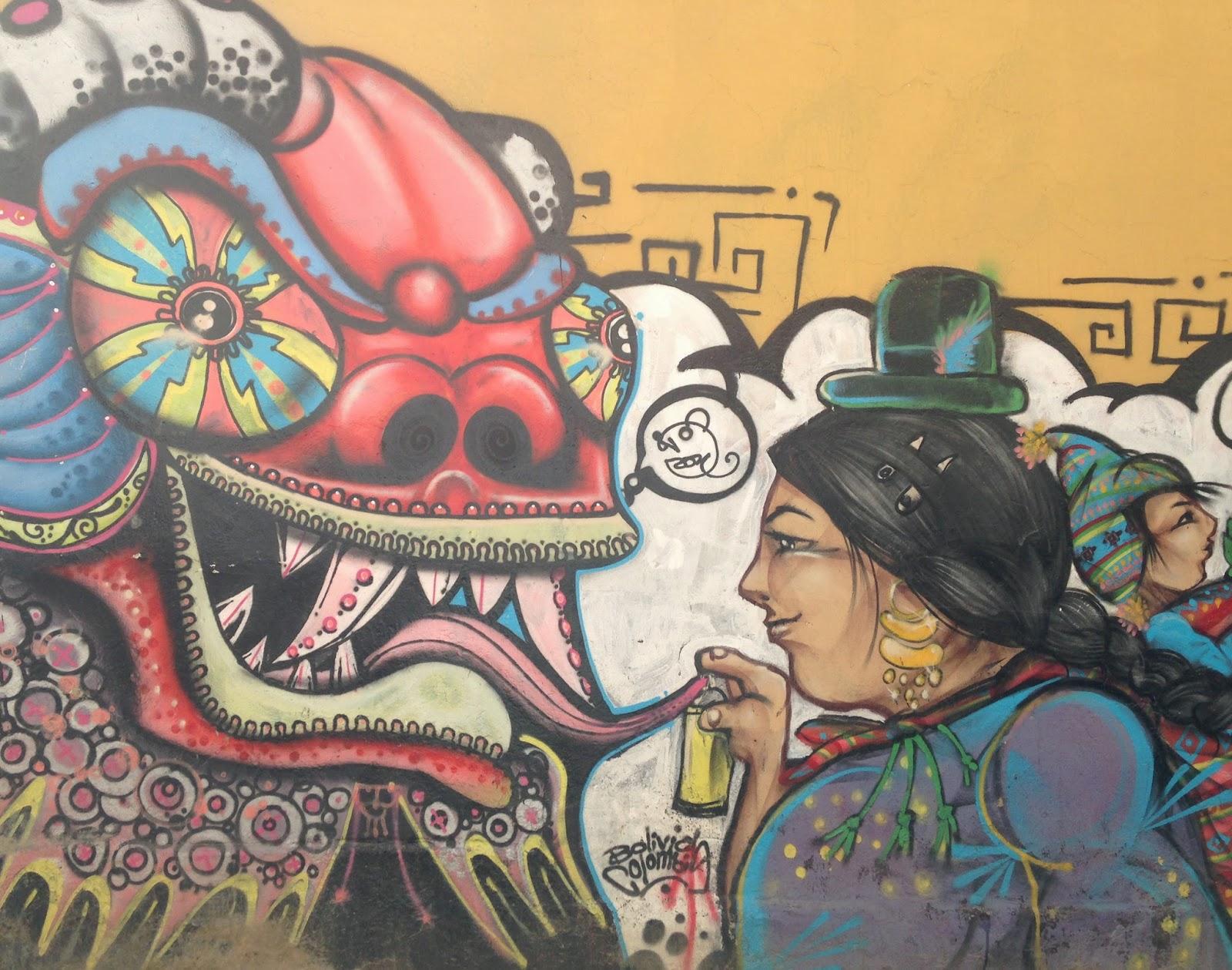 la paz street art bolivia