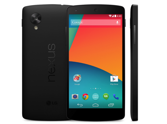 Purchase the Nexus 5 coming from the Google Play store