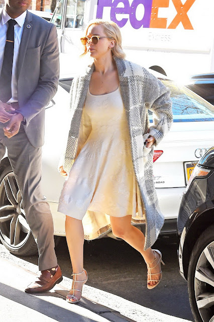 Actress, @ Jennifer Lawrence - Out in New York City
