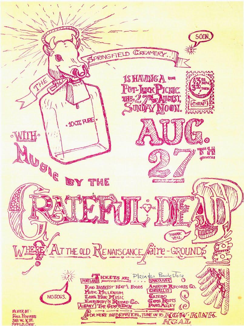 August 27, 1972 Veneta Poster