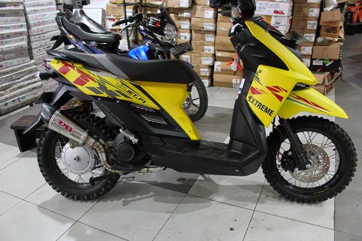 modifikasi yamaha x-ride title=