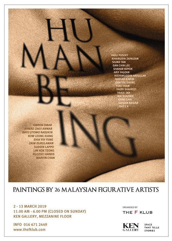 Human Being      Paintings by 26 Malaysian Figurative Artist