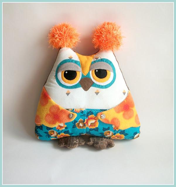 совы, подушки-игрушки