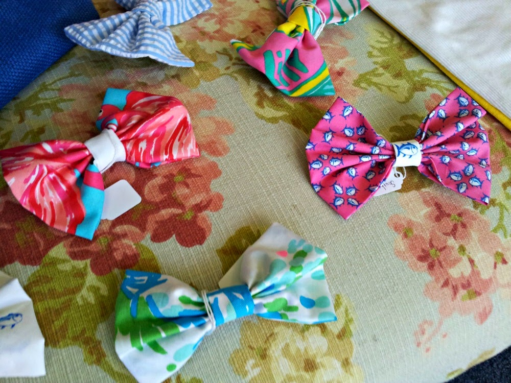 Locally-made bow-ties in Garner, N,C.