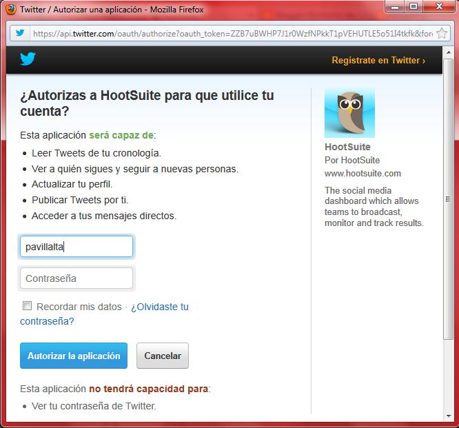 Publicar en Redes Sociales con HootSuite