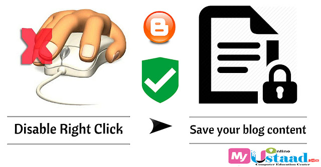 Disable Right Click,Disable Right Click on Blogger,Right Click Disable