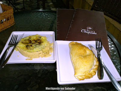 Bistrô da Chapada Café: Quiche de Funghi e Pastel de Forno