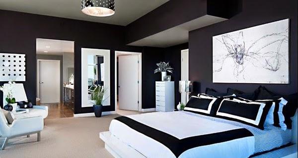 top 10 noir et blanc chambre design d cor de maison d coration chambre. Black Bedroom Furniture Sets. Home Design Ideas