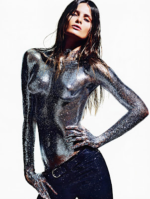 Isabeli Fontana by Mario Sorrenti for Vogue Paris