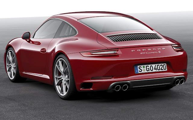 Novo Porsche 911 2017