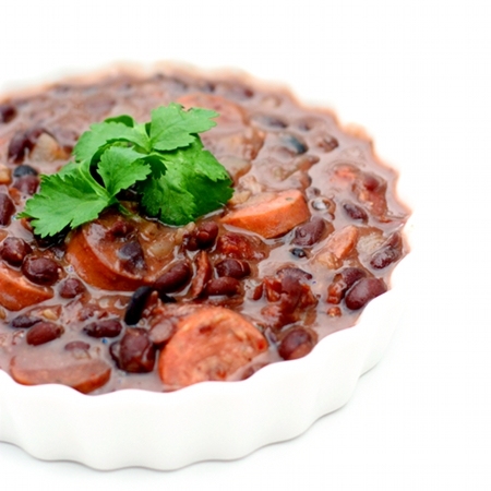 Red Shallot Kitchen: Feijoada (Brazilian Black Bean Stew)