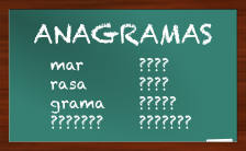 JOGO EDUC.: ANAGRAMA