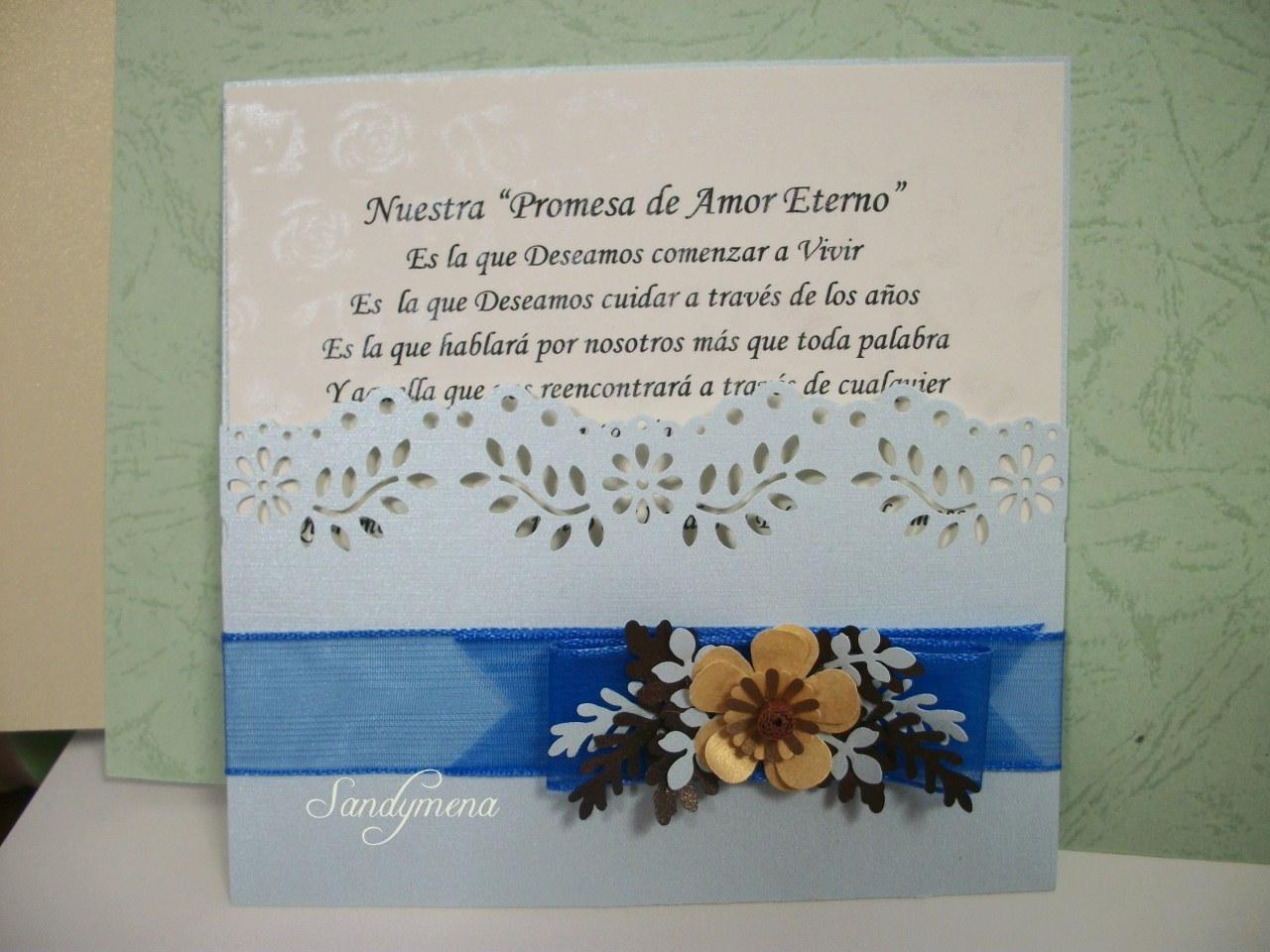 Tarjetas artesanales invitaciones de matrimonio modelos - Modelos de tarjetas de boda ...
