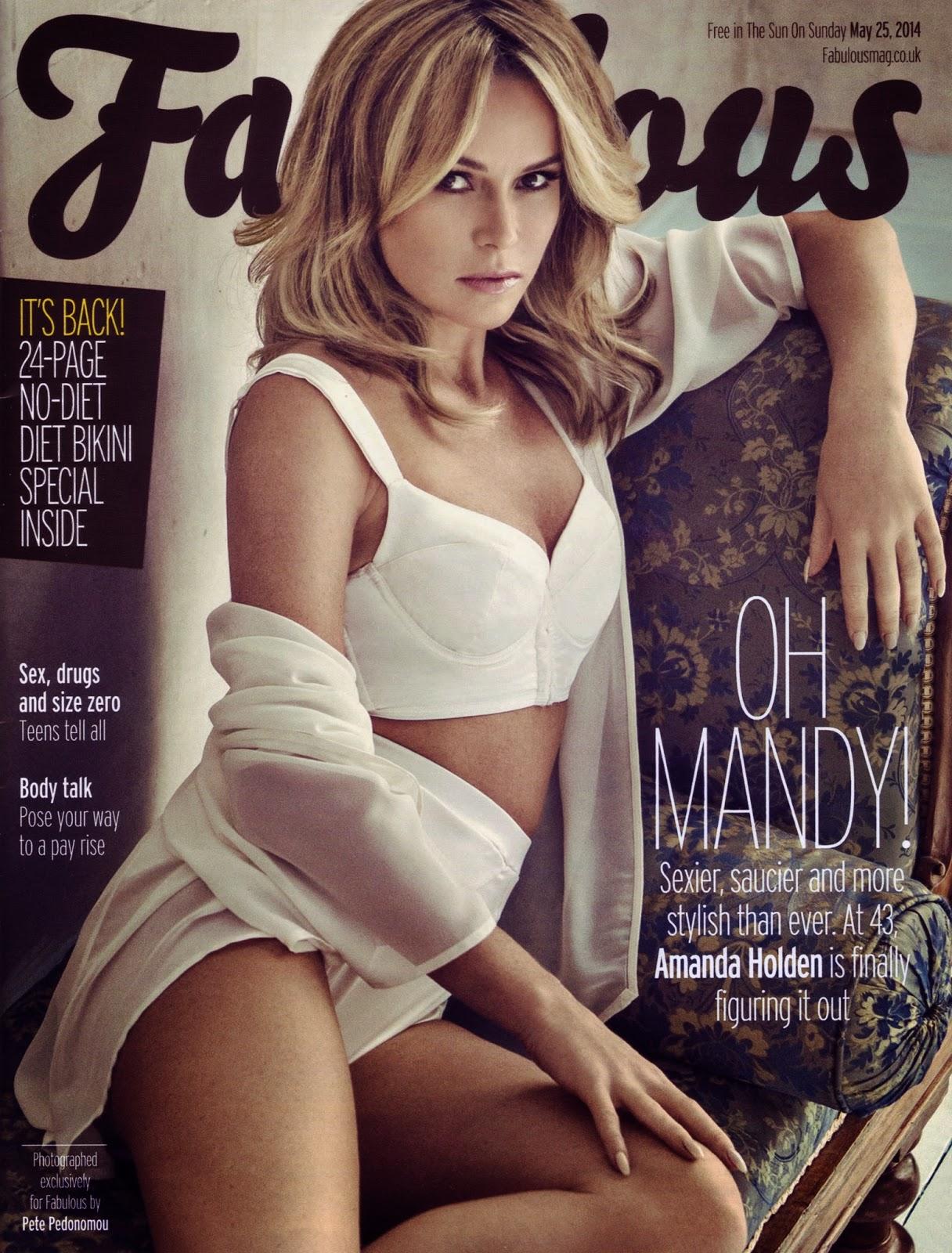 Amanda Holden  - Fabulous Magazine Photoshoot