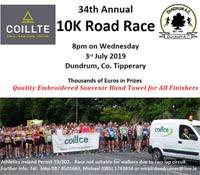 Fast 10k near Cashel - Wed 3rd July 2019