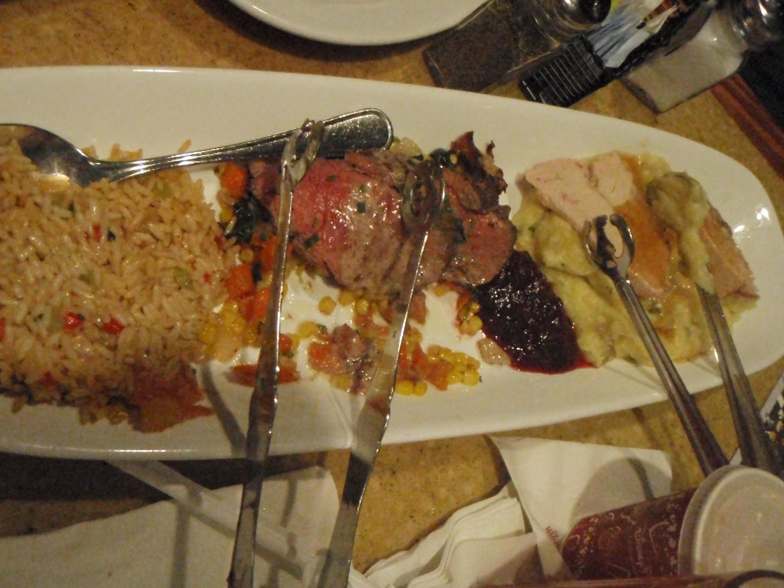 Gluten Free Disney: Garden Grill Epcot | Skipping Down The Primrose Path