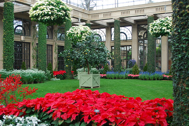 The Orangery, a bedding wonderland in the wintertime