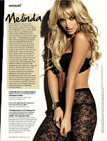 Melinda Bam hot in lingerie