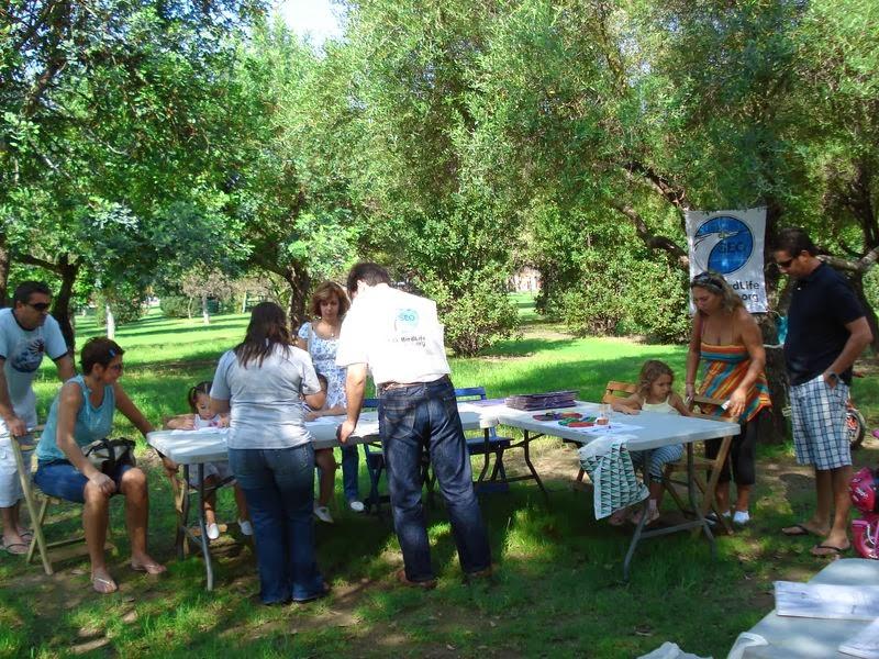 Educación Ambiental. Día de la Naturaleza 2007. Parque del Alamillo, 23 de septiembre