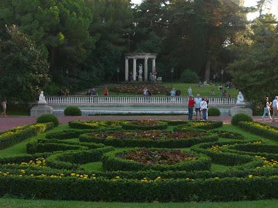 Joan Maragall gardens in Barcelona