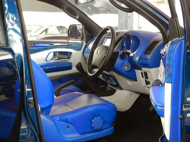 modifikasi interior mobil toyota fortuner