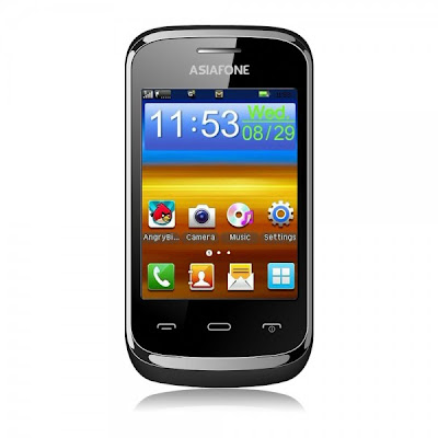 Asiafone AF7000, Touchscreen Dual-SIM Murah