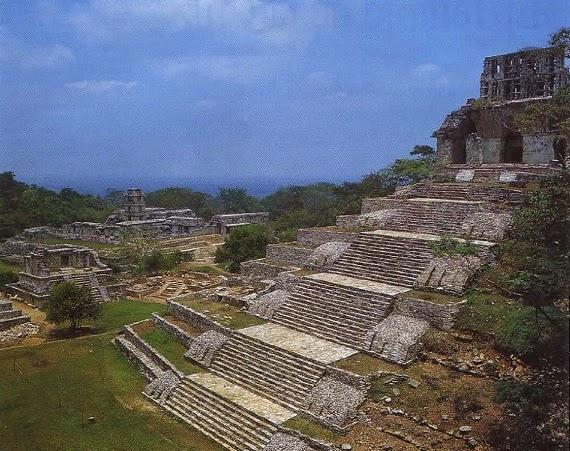 Templo de la Cruz - Palenque, Chiapas