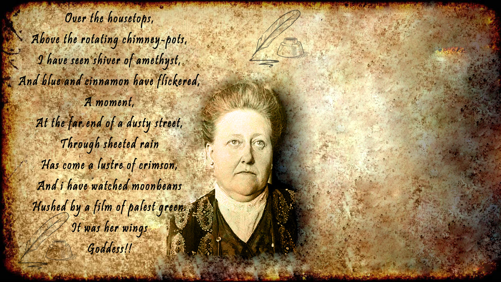 patterns amy lowell symbolism