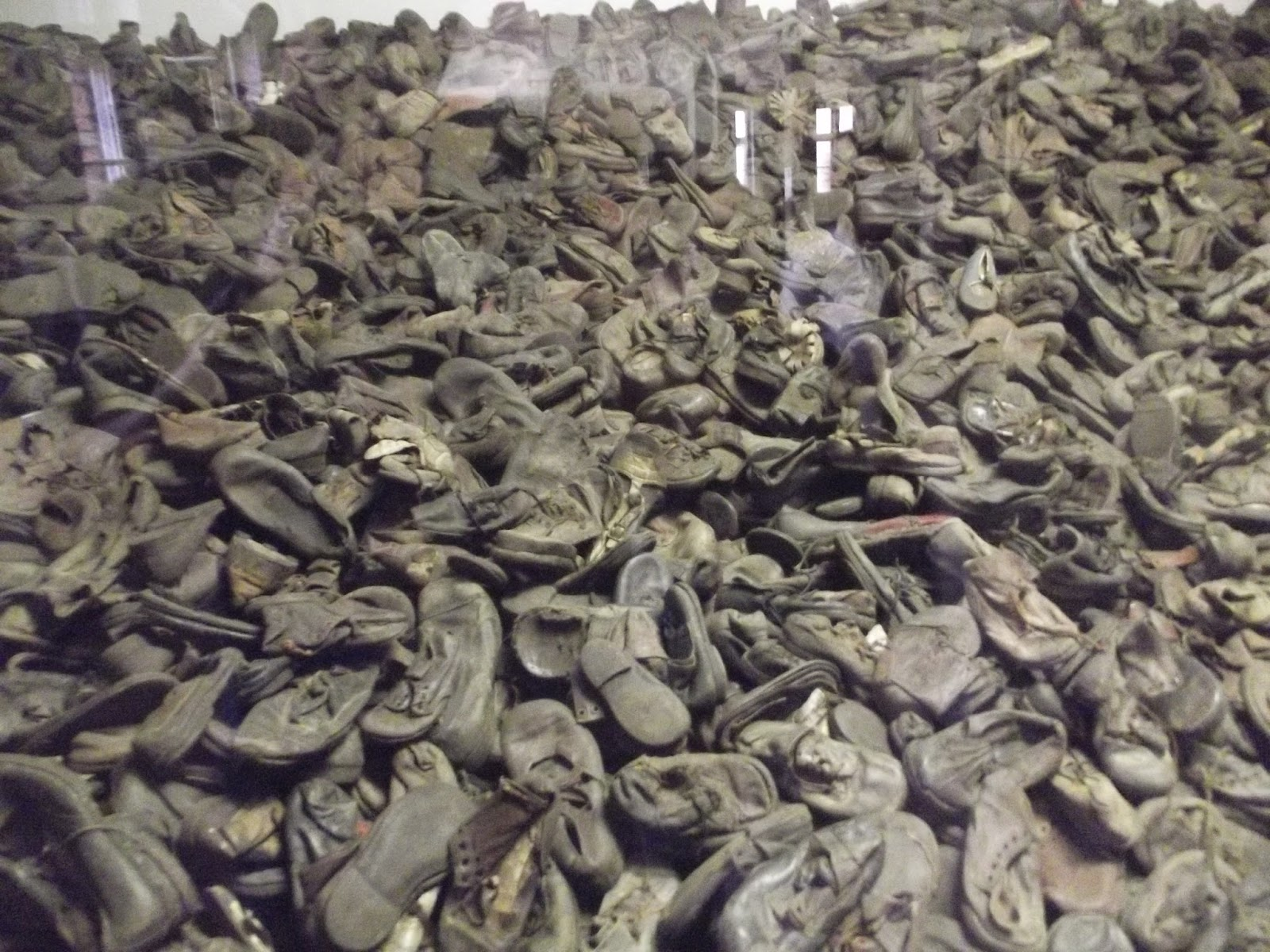 Auschwitz prisoner shoes