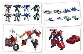 Transformers UN-15, UN-18 & Deluxe Generation Wave 7