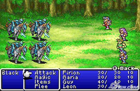 Final fantasy 1 and 2 gba