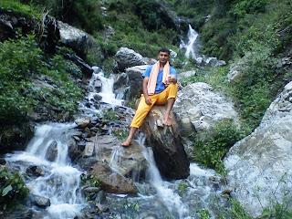 Bhagori Village Waterfall, Fakot, Uttarakhand