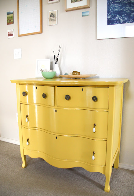 Bright July Before and After Craigslist Dresser Reno