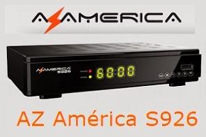 Atualizacao do receptor Azamerica S926 HD V2.07