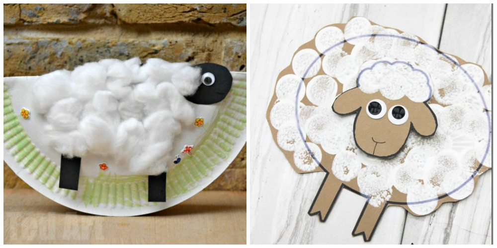 I Heart Crafty Things 10 Sheep Crafts For Kids