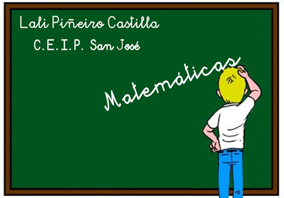 Lali Piñeiro Castilla  ¡ Disfuta con las Matemáticas !
