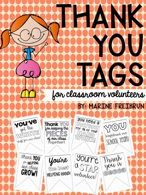 Thank You Tags Tales From A Very Busy Teacher