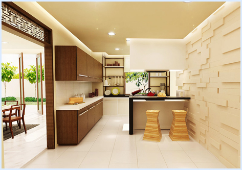 Charmant Asian Kitchen Design