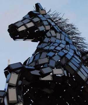 Patung Pegasus dari Smartphone 4