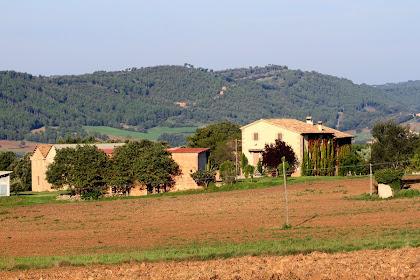 La masia El Muntanyà del terme de L'Espunyola