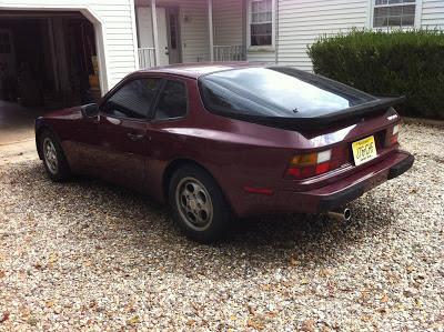 1987 Porsche 944 Original Rear